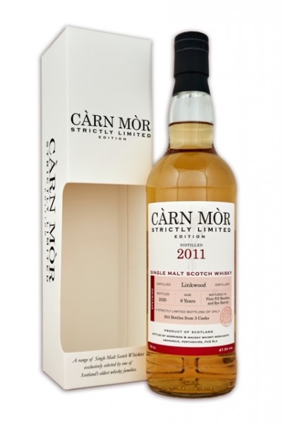 Carn More Linkwood 2011 8y 47,5 %Vol First Fill Bourbon and Rye Casks 953 bottles