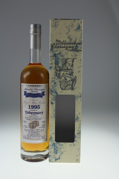 Alambic Classic Tobermory 25y 1995 2020 57,7 %Vol finished 7 years in Barbados Rum Barrel