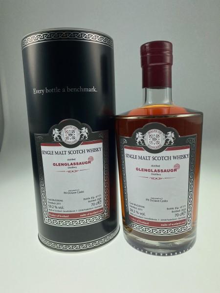 Malts of Scotland Glenglassaugh 2011 9 y 59,2%Vol 3 Sherry Octave Casks