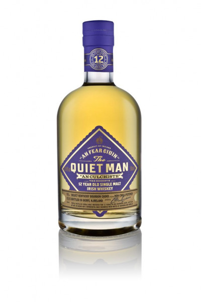 Quiet Man Single Malt Irish Whisky 12y 46%Vol