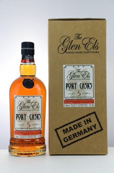 Glen Els 5 y Port Casks Gently Woodsmoked 47,40 %Vol