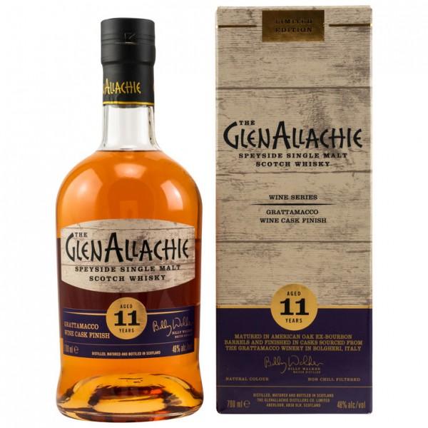 GlenAllachie 11y Grattamacco Wine Cask Finish 48 %Vol