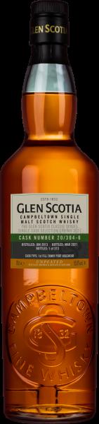 GLEN SCOTIA 2013 2021 55,8 %Vol Tawny Port Hogshead