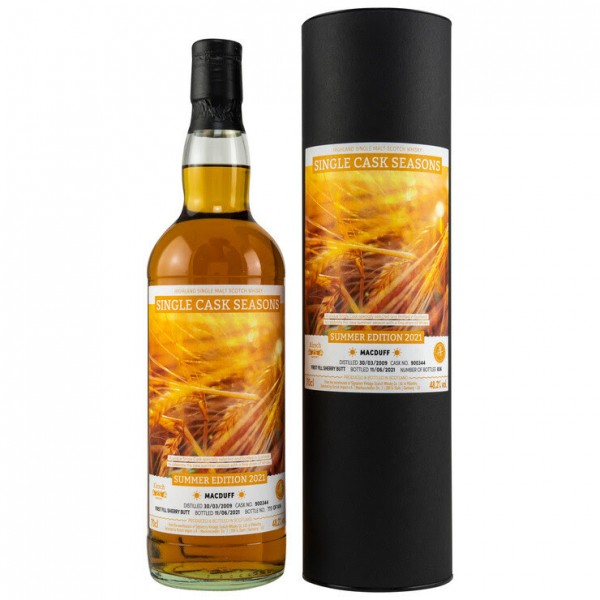 Signatory Macduff 2009/21 12y 48,2 %Vol Single Cask Seasons Summer Sherry