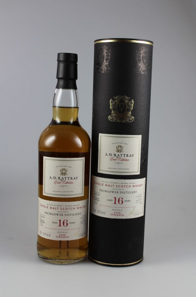 Inchgower A. D. Rattray Bourbon Hogshead 56.4 %Vol 274 Flaschen
