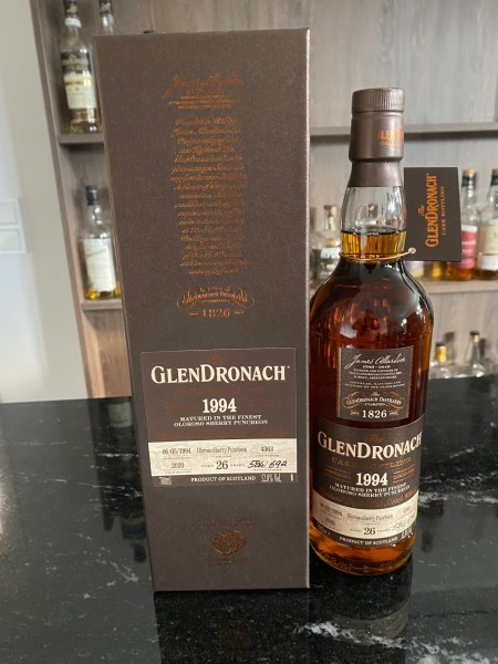 Glendronach 26y 06.05.1994 2020 Oloroso Sherry Cask 4363 52,8 %