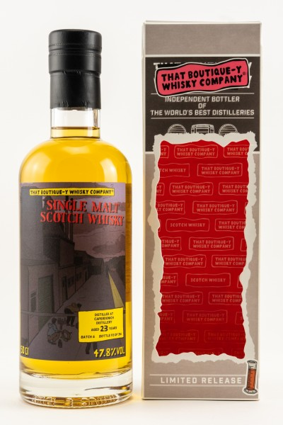 Caperdonich 23 y Batch 6 That Boutique-Y Whisky Company 47,8 %Vol