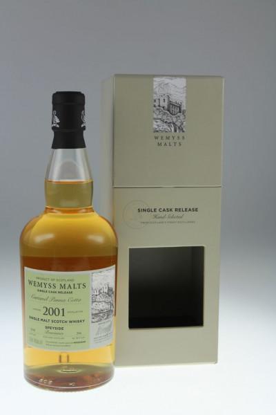 Wemyss Benrinnes Caramel Panna Cotta 2001, 17 years, 46%, Bourbon Hogshead, 256 bottles