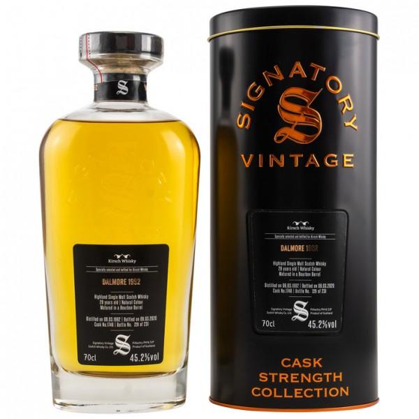Signatory Dalmore 1992/2020 28y 45,2 %Vol Bourbon Barrel Kirsch Exclusive 231 Flaschen