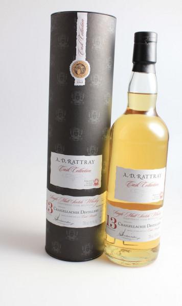 Craigellachie Bourbon 2003 13y 58,9% A. D. Rattray