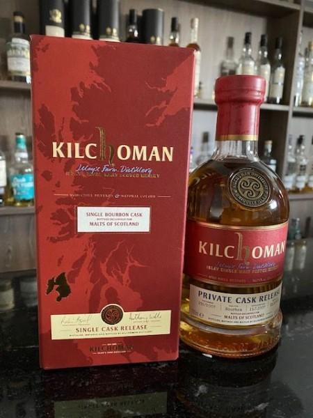 Kilchoman Private Cask Edition 2007 2019 Bourbon Cask 55,6 %Vol Bourbon Barrel