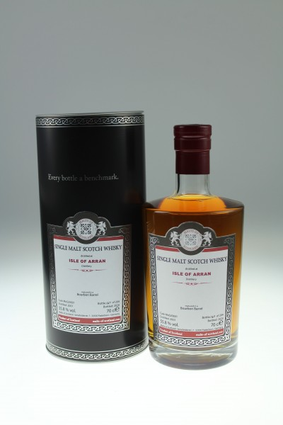 Malts of Scotland ISLE OF ARRAN MoS20031 55.8%Vol Bourbon Barrel
