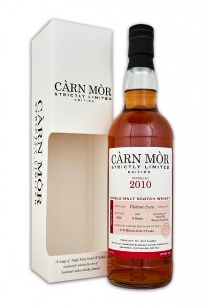 Carn More Glentauchers 2010 9y 47,5 %Vol 2 Sherry Puncheon