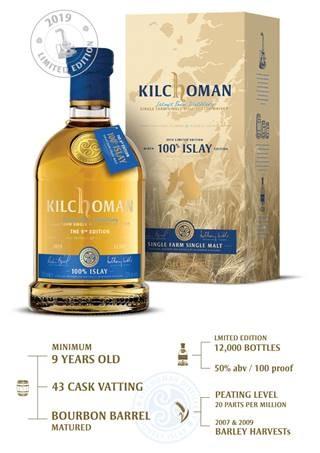 KILCHOMAN 100% ISLAY Release 9. Edition 50%