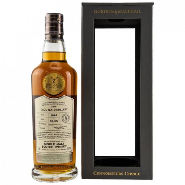 Caol Ila 1996/2020 Gordon & MacPhail Connoisseurs Choice 23 y Refill Sherry Butt 519 bottles 58,3 %V