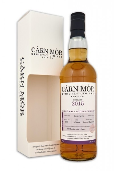 Carn Mor Ben Nevis PEATED 2015 4y 47,5 %Vol Sherry Hogshead