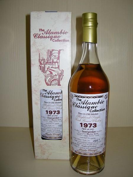 "ALAMBIC CLASSIQUE Invergordon ""Bourbon Barrel"" 1973, 46 y Single Cask Grain 49,7 %Vol"