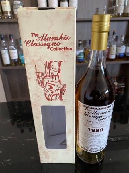 ALAMBIC CLASSIQUE Cambus 1989 32y Single Sherry Cask Grain 60,8 %Vol lost distillery