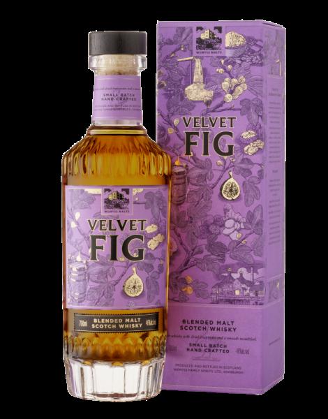 Wemyss Family Spirits Velvet Sherry 46 %Vol 9750 Flaschen aus 15 Sherry Fässern