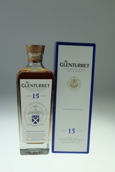 Glenturret 15y Cask Strength 55 %Vol Refill Sherry Casks