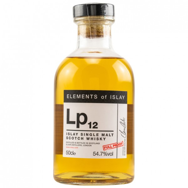 Elements of Islay Lp12 54,7 %Vol 1672 bottles 0,5 l
