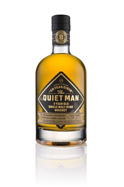 Quiet Man Single Malt Irish Whisky 8y 40%Vol