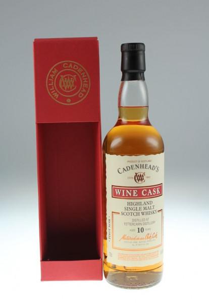 Cadenhead`s Fettercairn 2008 10 y 56,6 %Vol Pinot Noir Cask 264 bottles