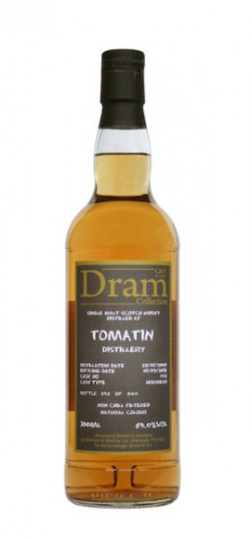 C&S Dram Tomatin 2008 10y 59 %Vol Sherry Hogshead