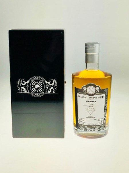 Malts of Scotland WAREHOUSE DIAMONDS Benriach 1985 Bourbon Barrel 44.0%Vol 167 Bottles