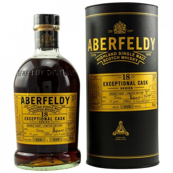 Aberfeldy Exeptional Cask Series 18y 53,3 %Vol Sherry Finish 22.02.2002 11.11.2020