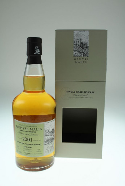Wemyss Dailuaine 17y 2001 46 %Vol Bourbon Hogshead