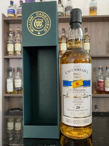 Cadenhead`s Port Dundas Distillery 1988 29y 50,7%Vol 216btls. Bourbon Hogshead