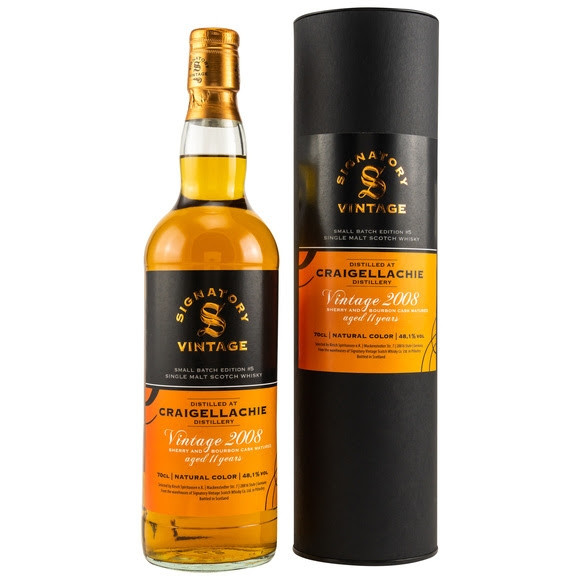 Craigellachie 2008/2019 Signatory Small Batch Edition #5 Dest.: 20.06.2008