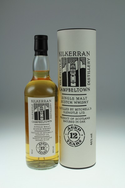 Kilkerran 12 y 46 %Vol 2020 70 % Bourbon & 30 & Sherry casks