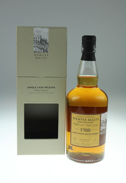Wemyss Waffles and Maple Syrup 1988 30 years 59,9%, 339 bottles Distilled at Invergordon Distillery (Whisky)
