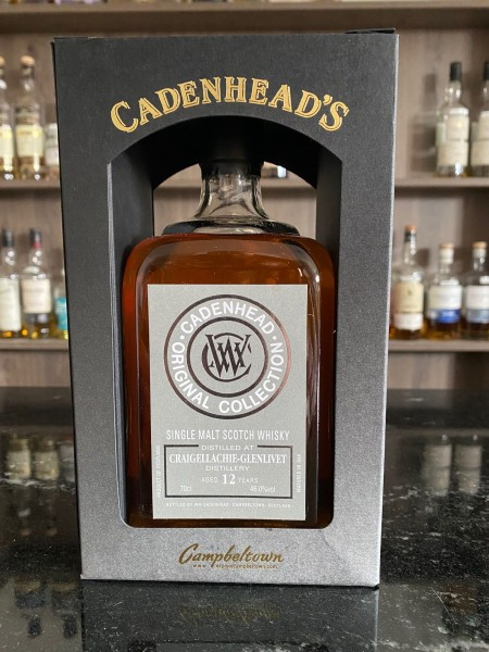 Cadenhead`s Tomintoul Distillery 14 y 46 %Vol refill Sherry Butts