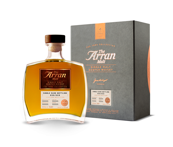 Arran Single Cask Hogshead 1995/413 24 y 51,9 %Vol The 1995 Collection