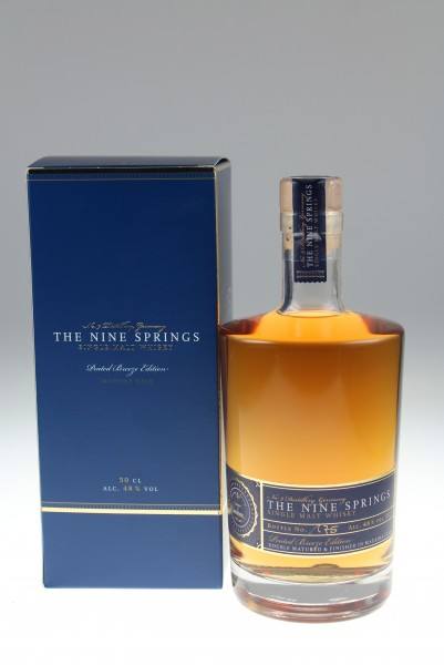 The Nine Springs Peated Breeze Edition Madeira Cask 48 %Vol