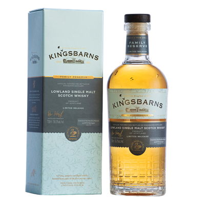 "KINGSBARNS ""FAMILY RESERVE"" LIMITED EDITION 2020 59,2 %Vol"