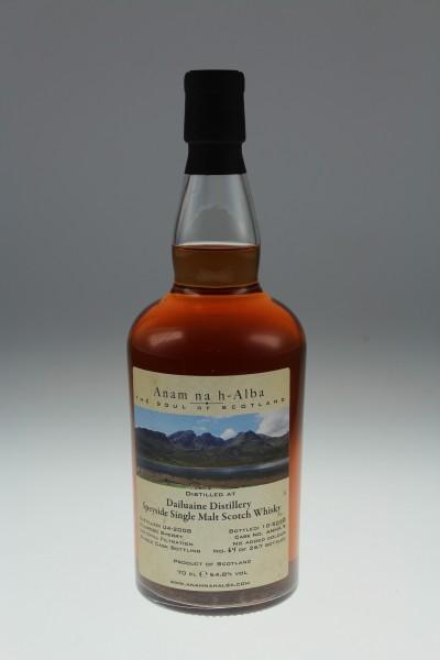 Anam na h-Alba Dailuaine 2008 2020 54,8 %Vol Oloroso Sherry