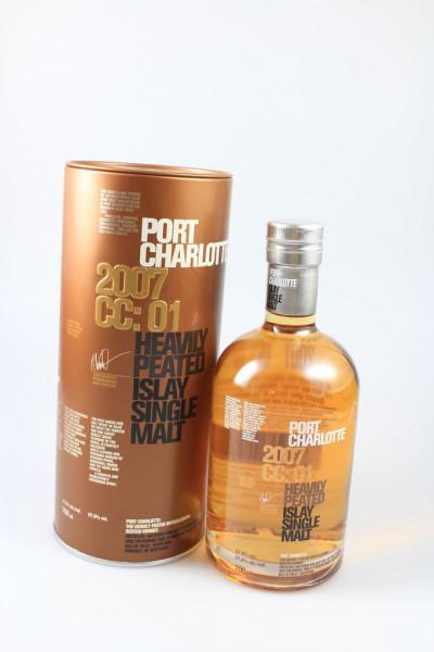 Port Charlotte CC:01 57,8% 2007/2015 8y Cognac Casc