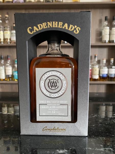 Cadenhead`s Craigellachie Distillery 12 y 46 %Vol refill Sherry Butts Madeira Cask