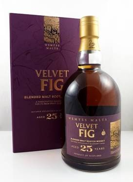 Wemyss VELVET FIG Small Batch Bottling, Aged 25 Years, Sherry Cask Matured 42,3 %Vol