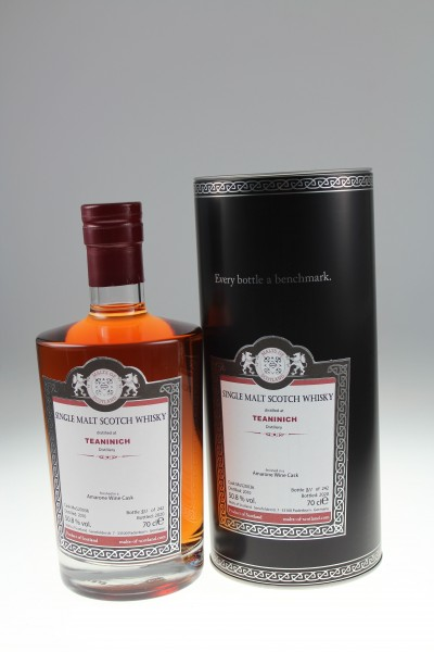 Malts of Scotland Teaninich 2010 Amarone Wine Finish 50,8 %Vol 242 bottles