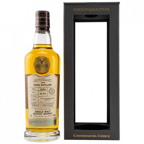 Scapa Gordon & MacPhail Connoisseurs Choice15 Jahre Fässer 2005/01/09/2020 First Fill Bourbon