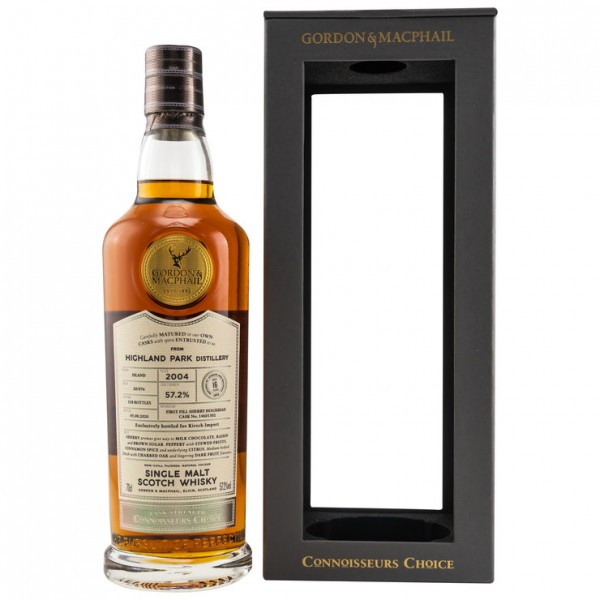 Highland Park 2004/2020 Gordon & MacPhail 16y 57,2 %Vol 318 Bottles First Fill Sherry Hogshead