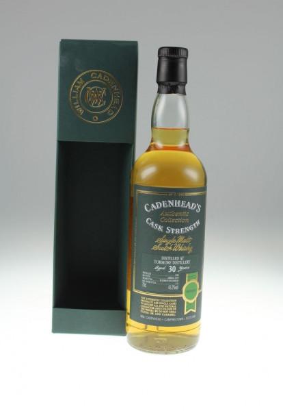 Cadenhead`s TormoreDestillation Jahr 1988 30y Bourbon Hogshead 43,20 %Vol