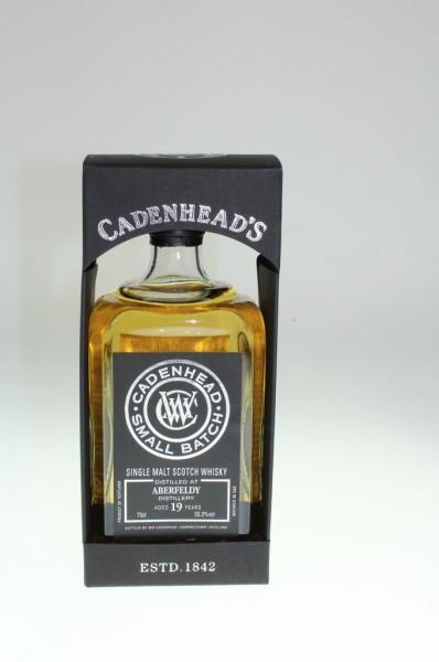Cadenhead`s Aberfeldy Distillery 19y/o 55,3% 528btls. Bourbon Hogsheads 0,7l (Whisky)