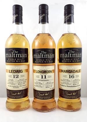 Maltman Turriff, 2004, 15 years old, 52,5%, Deanston Distillery Bourbon hogshead no. 8
