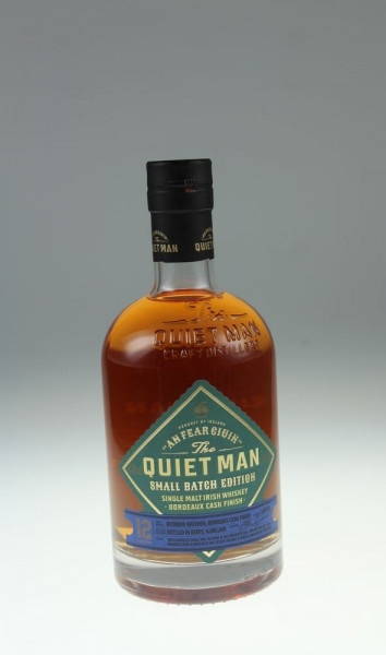 The Quiet Man Single Malt Limited Edition Bordeaux Wine Finish 12 y